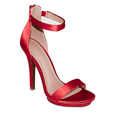 91da26a13d5 Amazon.com   Wild Diva Women's High Heel Sandals Open Toe Ankle ...