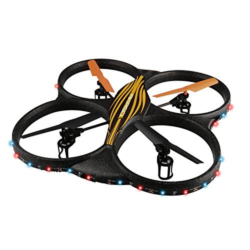 AKASO K88 2.4GHz 4 CH 6 Axis Gyro RC Quadcopter with HD Camera, Gyro Headless, 360-degree Rolling Mode 2 RTF LED RC Drone