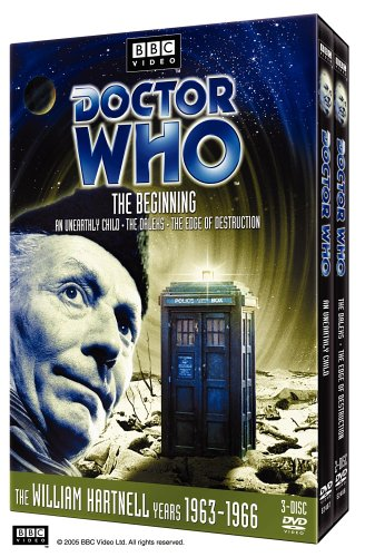 Doctor Who: The Beginning (An Unearthy Child / The Daleks / The Edge of Destruction) (Stories 1 - 3) by Warner Home Video