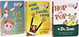 Hop on Pop / Hand, Hand, Fingers, Thumb / The Eye Book (Bright and Early Board Books, Pack E)
