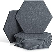 12 Pack Set Hexagon Acoustic Absorption Panel
