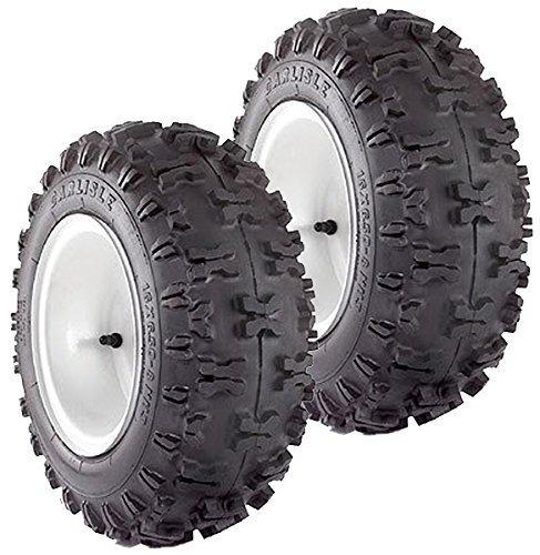 2 Ply Snow Hog - Carlisle (2 Pack) Snow Hog 2 Ply 410/350-4 Snow Blower Tire # 5170041 by Carlisle Tires