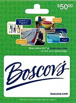 $50 Boscovs Gift Card