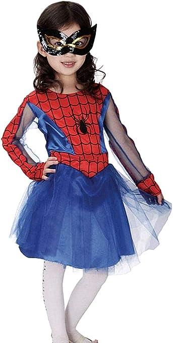 Disfraz de mujer araña - disfraz - niña araña - niña - carnaval ...