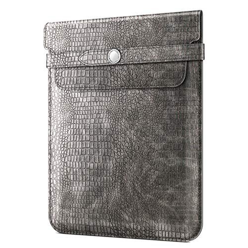 Fintie 9-11 Inch Tablet Sleeve with Stylus Holder, Protective Cover Case Compatible with iPad 10.2, iPad Air 10.5, iPad Pro 11, iPad 9.7 6th/5th Gen, iPad Pro 10.5, Samsung Tab A 10.5/S4 10.5, Gray (Best 9 Inch Tablet 2019)