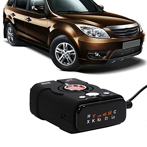 Radar Detector 16 Band Led Display Anti 360 Degrees Full-angle Detection Technology. Frequency