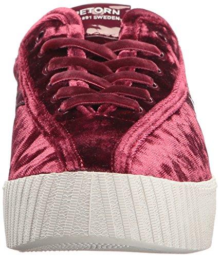 Sneaker In Velluto Rosso Nylite4bold Donna Tretorn