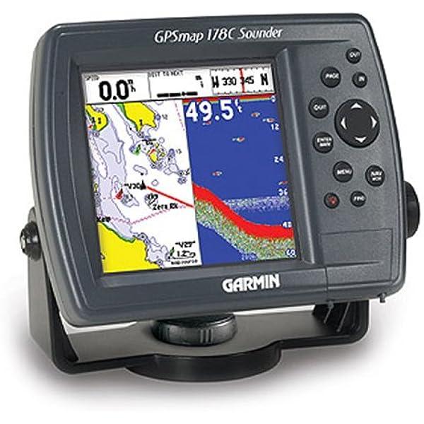 Garmin GPSMAP 178 C (Color) con Antena Interna y Doble ...