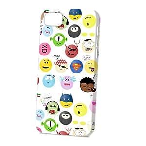 Case Fun Apple iPhone 5C Case - Vogue Version - 3D Full Wrap - Cartoon Faces