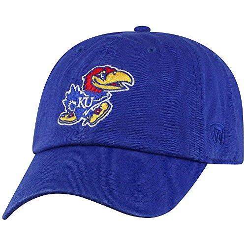Kansas Jayhawks Ku Baseball - Top of the World Kansas Jayhawks Men's Hat Icon, Royal, Adjustable