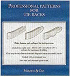 Professional Patterns for Tie-Backs, Catherine Merrick and Rebecca Day, 0951684132