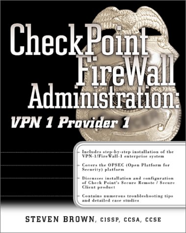 Check Point Firewall-1/VPN-1: The Official Guide [With ()