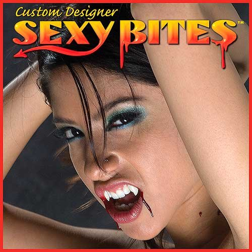 Sexy Bites Custom Vampire Fangs, Small - coolthings.us