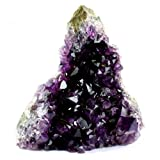Crystal Allies Specimens: Natural Amethyst Quartz Crystal Cluster from Uruguay - 1lb to 2lbs