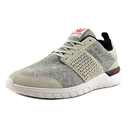clearance amazing price Supra Scissor Skate Shoe Light Grey - Red-m fashion Style sale online outlet popular discount purchase 4ZT9Wj