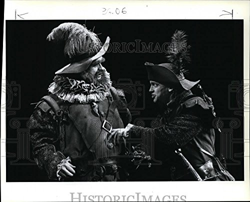 1989 Congregate Photo Paul Vincent O'Connor and Matthew Davis in Henry IV, Part Two.