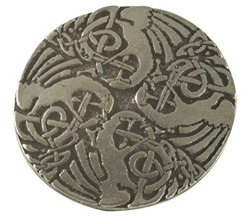 Celtic Cranes (Celtic Crane Buttons (Card of 4) 15/16