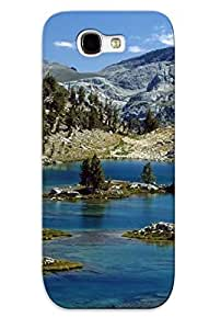 lintao diy For Galaxy Note 2 Fashion Design Mountain Lake Case-NTQtara3748Gucre / Cover Specially Made For Thanksgiving Day's Gift