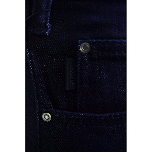 Armani Jeans Men's J45 Dark Blue Slim Fit Jeans