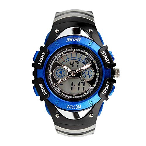 iNoDoZ Watches,Kids Children LED Quartz Fashion Watch for Boy Girl Diving Outdoor Wristwatch 6 Colors ()