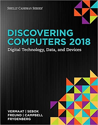 Amazon Com Discovering Computers C 2018 Digital Technology Data