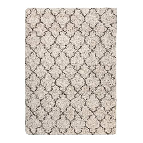 Ashley Furniture Signature Design - Gate Rug - 7x10 Area Rug - Tufted - Imported - Cream (Imported Furniture Outdoor)
