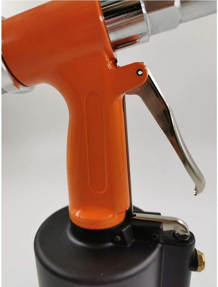 WFBD-CN Drucklufthammer Pneumatic Rivet, Vertical Rivet, Home Decoration Nail, Pull Nail Stroke 16mm Pneumatic polishing machine (Color : Yellow) Orange