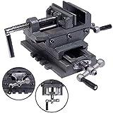 New 4'' Cross Drill Press Vise X-Y Clamp Machine Slide Metal Milling 2 Way HD