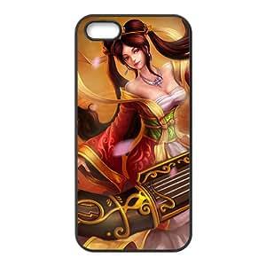 League Legends Ancient Beautiful Girl Black iPhone 5S case