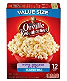 popcorn bags microwave - Orville Redenbacher's Movie Theater Butter Microwave Popcorn, 3.29 Ounce Classic Bag, 12-Count, Pack of 6