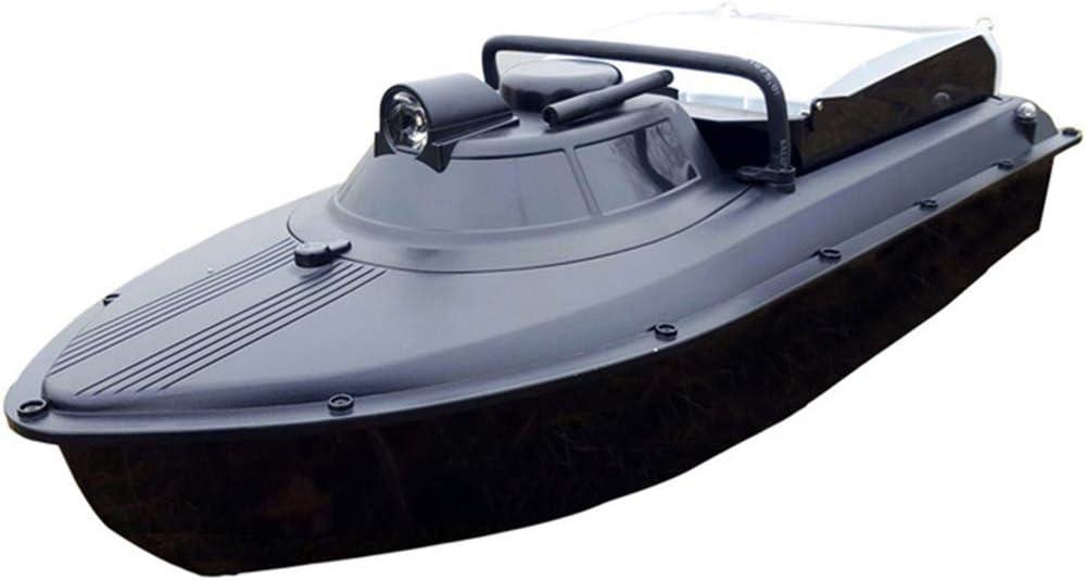 ZJRA Barco De Cebo De Pesca Inteligente, Máquina De Marcado, Barco Ligero De Pesca Nocturna, Buscador De Peces, 300M, Carga 1.5 Kg, Navegación 1 Km, Retorno Automático