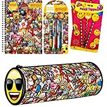 EMOJI BACK TO SCHOOL STARTER SET - Get the Stationary you need to set you up for school/college!!