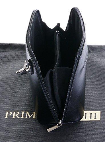 peinte sac de de main en sac main sac bandoulière Noir Petit nbsp;Comprend Sacchi de rangement cuir italien à à la un marque protecteur ou Primo fzXwqB8f