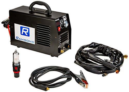 Ramsond CUT 50DX 50 Amp Digital Inverter Portable Air Plasma Cutter Dual Voltage ()