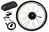 Clean Republic Hilltopper Electric Bike Conversion Kit | 350 Watt E-Bike Front Wheel Motor & 36 Volt Lithium Battery Included | for 20'/24'/26'/27.5'/29' inch or 700c Bicycles