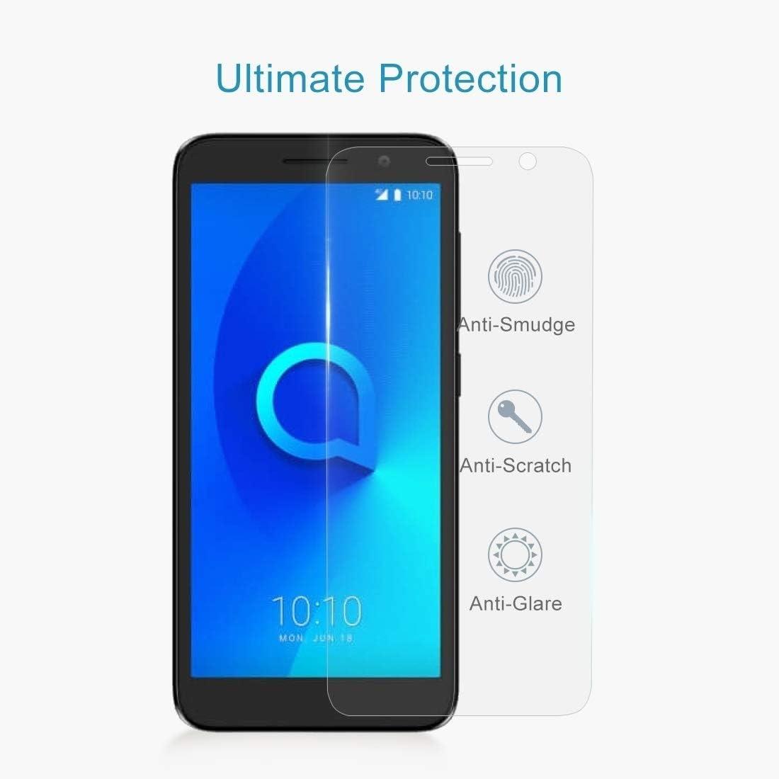 Wangl Mobile Phone Tempered Glass Film 50 PCS 0.26mm 9H 2.5D Tempered Glass Film for Alcatel 1 5033 Tempered Glass Film