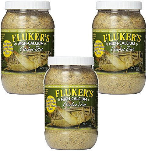 - Fluker's High Calcium Cricket Diet, 11.5-Ounce (3 Pack)
