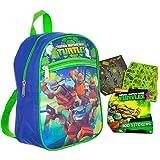 Teenage Mutant Ninja Turtles Preschool Backpack Toddler (11') with TMNT Bonus Stickers