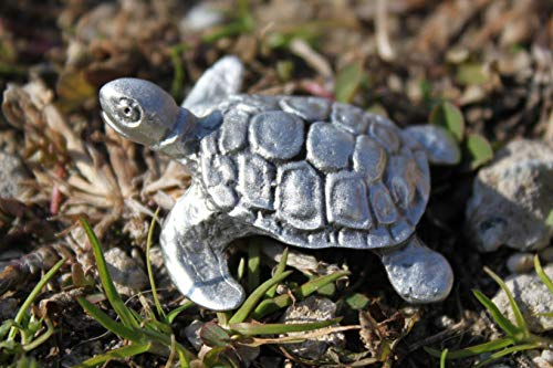 Hastings Pewter Company Lead Free Pewter Sea Turtle Figurine statue decoration