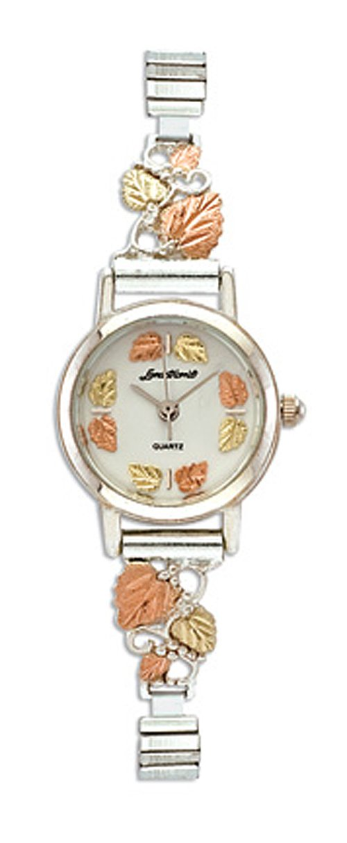 Landstroms Gold On Silver Ladies Watch and Band - 09284B-SS-09250-SS