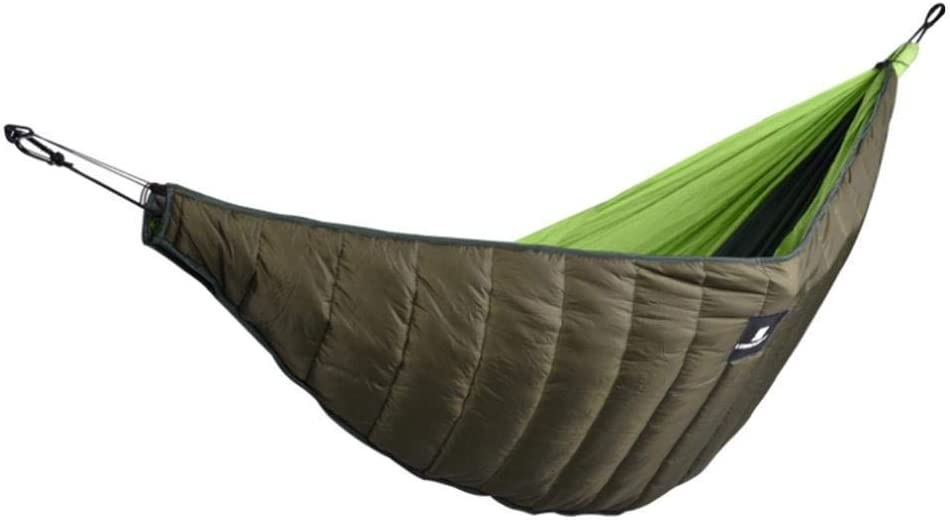 Camping Hamaca De Invierno PorNoche Engrosado Prueba Viento Edredón Cálido Algodón Viaje Hamacas Colchoneta para Caminatas Jardín Puede Empacar Mochilero Completo Patio Trasero Aire Libre: Amazon.es: Deportes y aire libre