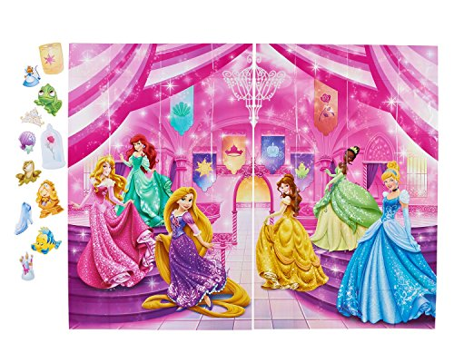 - Disney Princess Photo Kit, Backdrop and Props, Party Supplies