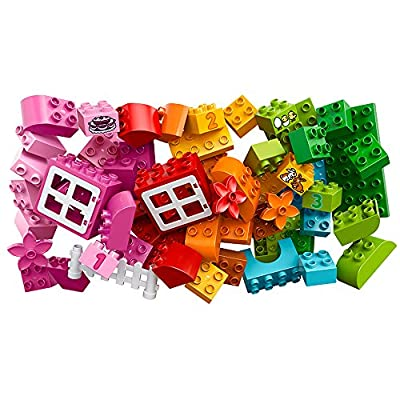 LEGO DUPLO All-in-One-Pink-Box-of-Fun 10571: Toys & Games