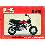 99920-1083-01 1980 kawasaki kv75-a9 minibike motorcycle owners manual