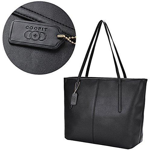 Borsa da donna, Whobabe moda progettato da donna, borse a tracolla, borsa messenger bag del sacchetto da donna ciondolo a forma di borsa (grande, nero)