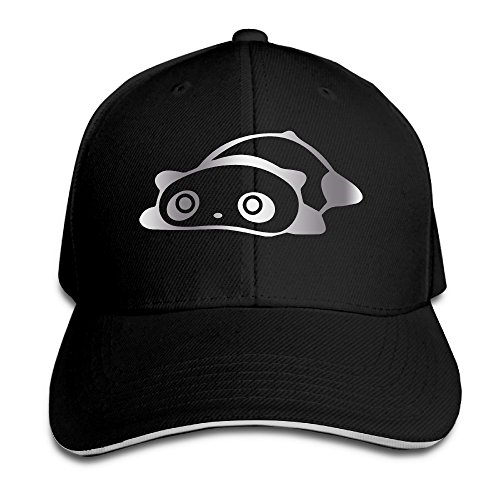cute-panda-bear-platinum-style-mens-flex-baseball-cap