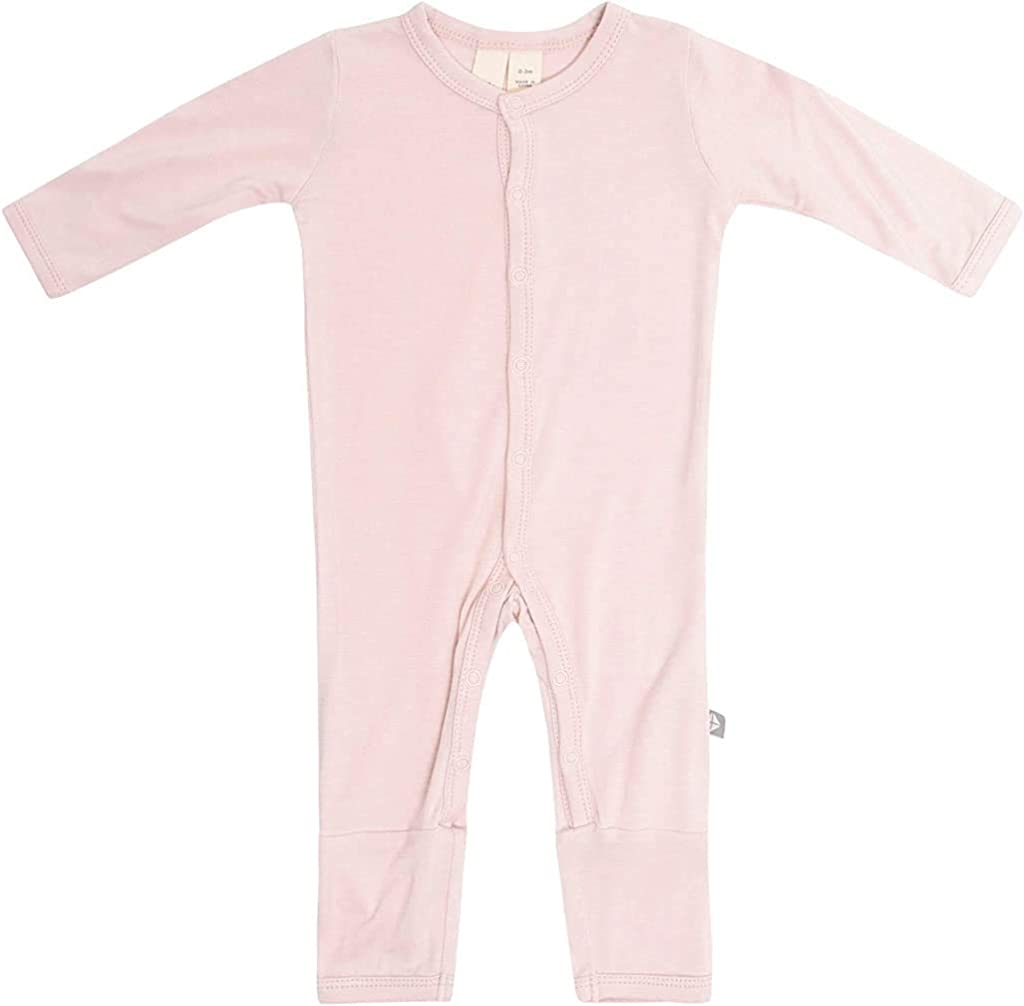 0-24 Months KYTE BABY Unisex Soft Bamboo Rayon Rompers Snap Closure