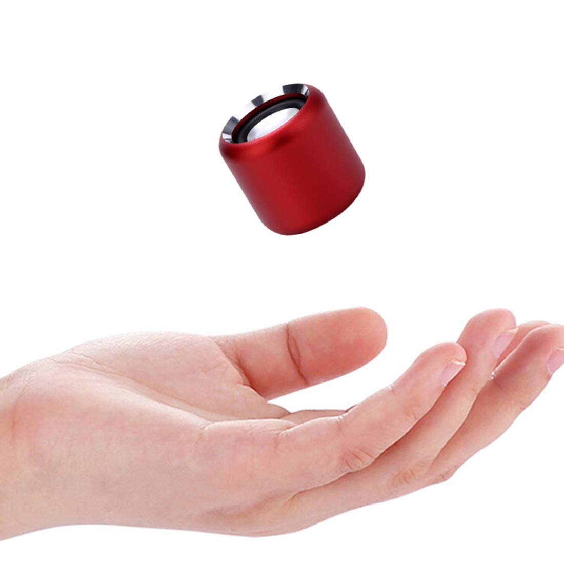 Wireless Mini Bluetooth Speaker Small Loud Portable Speakers for Home, Outdoors, Travel with 5-Hour Playtime, Subwoofer, Enhanced Bass (Red)