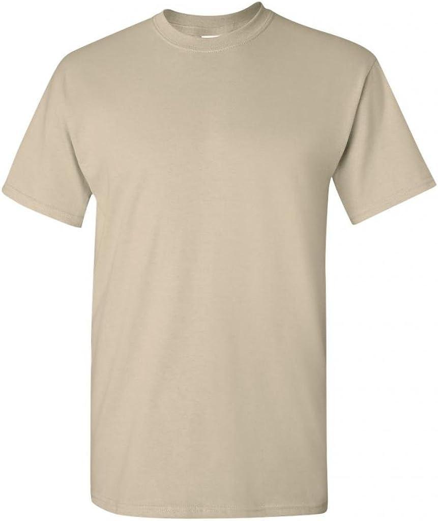One 1 NEW Sand Gildan Color T-Shirt S,M,L XL Pick Size and Quantity
