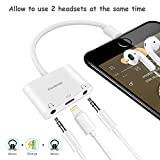 Best Headphone Splitters - Lightning to 3.5mm Headphone Jack Adapter , Excellenter Review